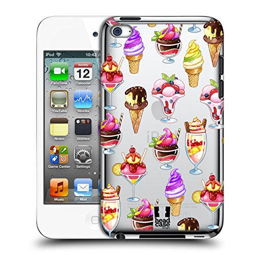 Head Case Designs Ice Cream Summer Treats Collection Hard Back Case for Apple iPod Touch 4G 4th - Ice Cases 4 Cream Ipod
