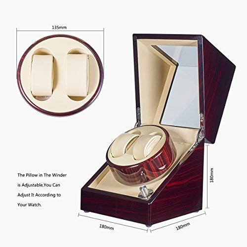 Review JQUEEN Double Watch Winder