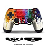 Skins for PS4 Controller – Decals for Playstation 4 Games – Stickers Cover for PS4 Slim Sony Play Station Four Controllers Pro PS4 Accessories PS4 Remote Wireless Dualshock 4 – Paints + 2 Light Bar Review