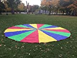 A&M Pro Giant Kid's Play Parachute Canopy with 16