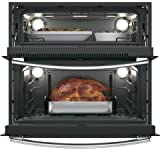 "GE Profile PT9200SLSS 30"" 5 cu. ft. Total Capacity Electric Double Wall Oven , in Stainless Steel"