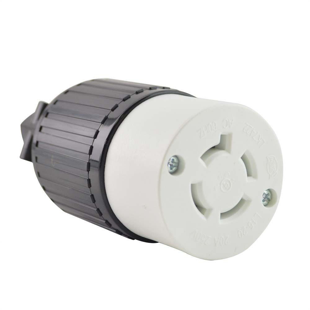 Superior Electric YGA029F Twist Lock Electrical Receptacle 4P 20A 250V - NEMA L15-20C