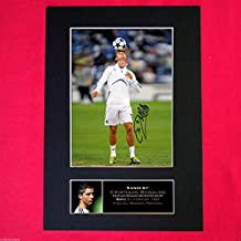 CRISTIANO RONALDO Real Madrid Signed Mounted Photo Print A4 210 x 297mm