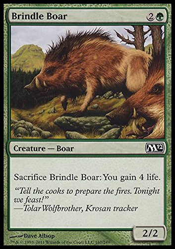 Magic the Gathering Brindle Boar product image