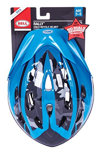Bell 7063277 Child Rally Helmet, Blue Camo
