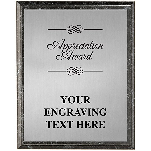 Corporate Plaques - 5 x 7 Appreciation Award Etched Recognition Trophy Plaque Award Prime