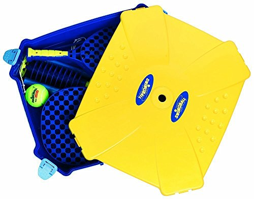 All Surface Swingball with Tether - Portable Tetherball Set by Squirrel Products (Image #1)