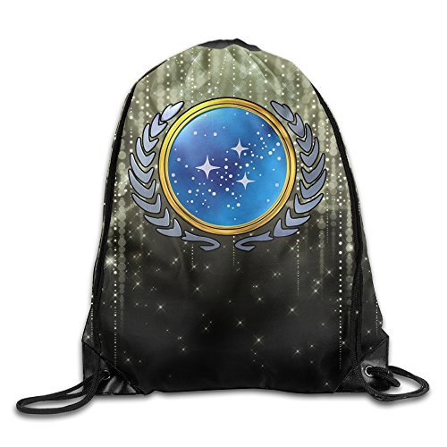 YYHU Star Cool Trek Logo Training Gymsack - Great For Travel And Everyday Life