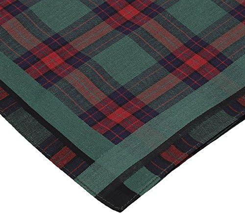 Betz Men Cloth Handkerchief Set Leo 1 Dessin 05 100/% Cotton Size 40x40 cm Color 6 pieces