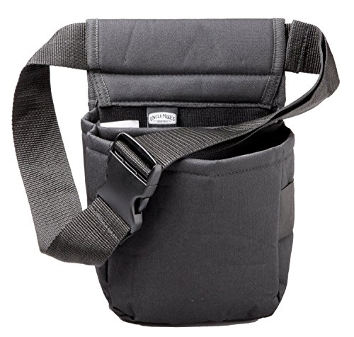Uncle Mike's Padded Cordura Nylon Shell Bag (Black, One Size) (Clays Belt)