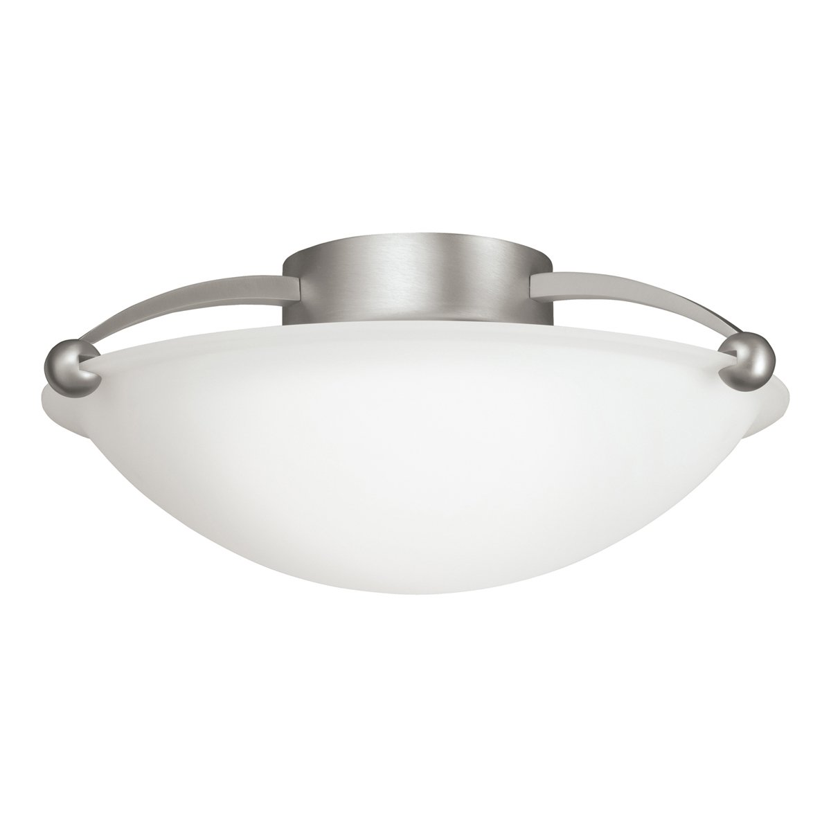 Kichler 8405ni two light semi flush mount close to ceiling light kichler 8405ni two light semi flush mount close to ceiling light fixtures amazon arubaitofo Image collections