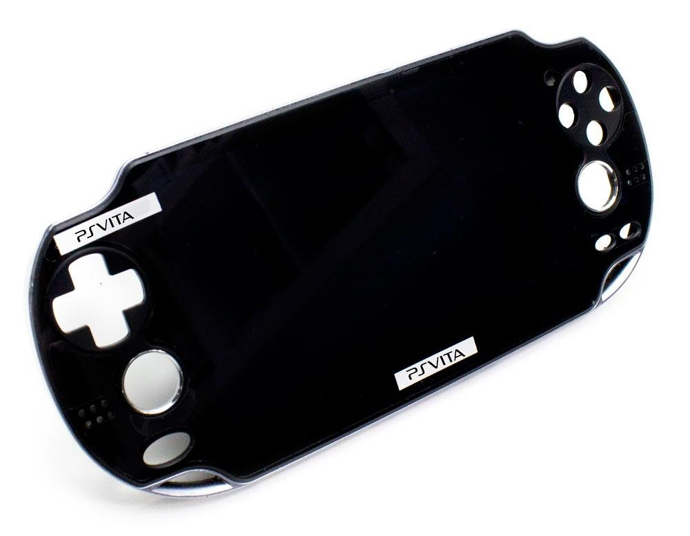 Pant. LCD + Carcasa Frontal PS Vita Wifi/3G Negra: Amazon.es ...