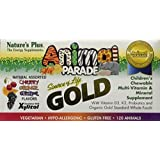 Nature's Plus Animal Parade Gold-Children's Multi-Vitamin (2-Pack of 120)