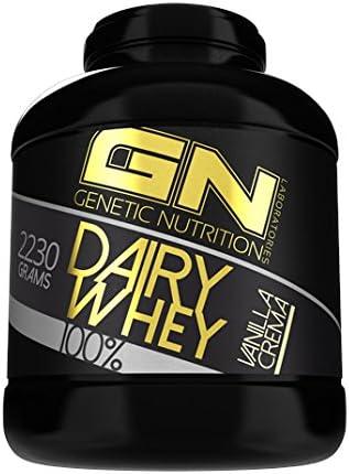 GN Laboratories 100% Dairy Whey Proteinshake Protein Eiweiß Bodybuilding Eiweißpulver (2230g Cocos White Chocolate - Kokos weiße Schokolade)