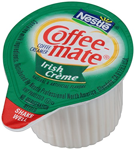 NESTLE COFFEE-MATE Coffee Creamer, Irish Creme, liquid creamer singles, 180 Count by Nestle Coffee Mate (Image #1)