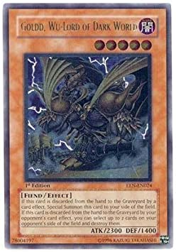 Overlord of Dark World STON-EN017 Ultimate Rare 1st Edition Yugioh Reign-Beaux