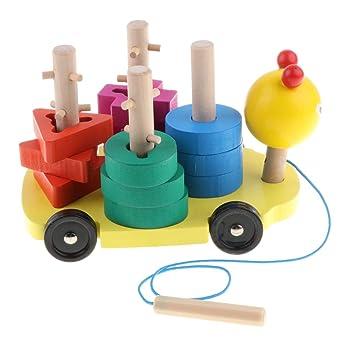 Coche Dibujos Juguete Montessori Bloque Kesoto De Animados Gusano MVqzLGSUp