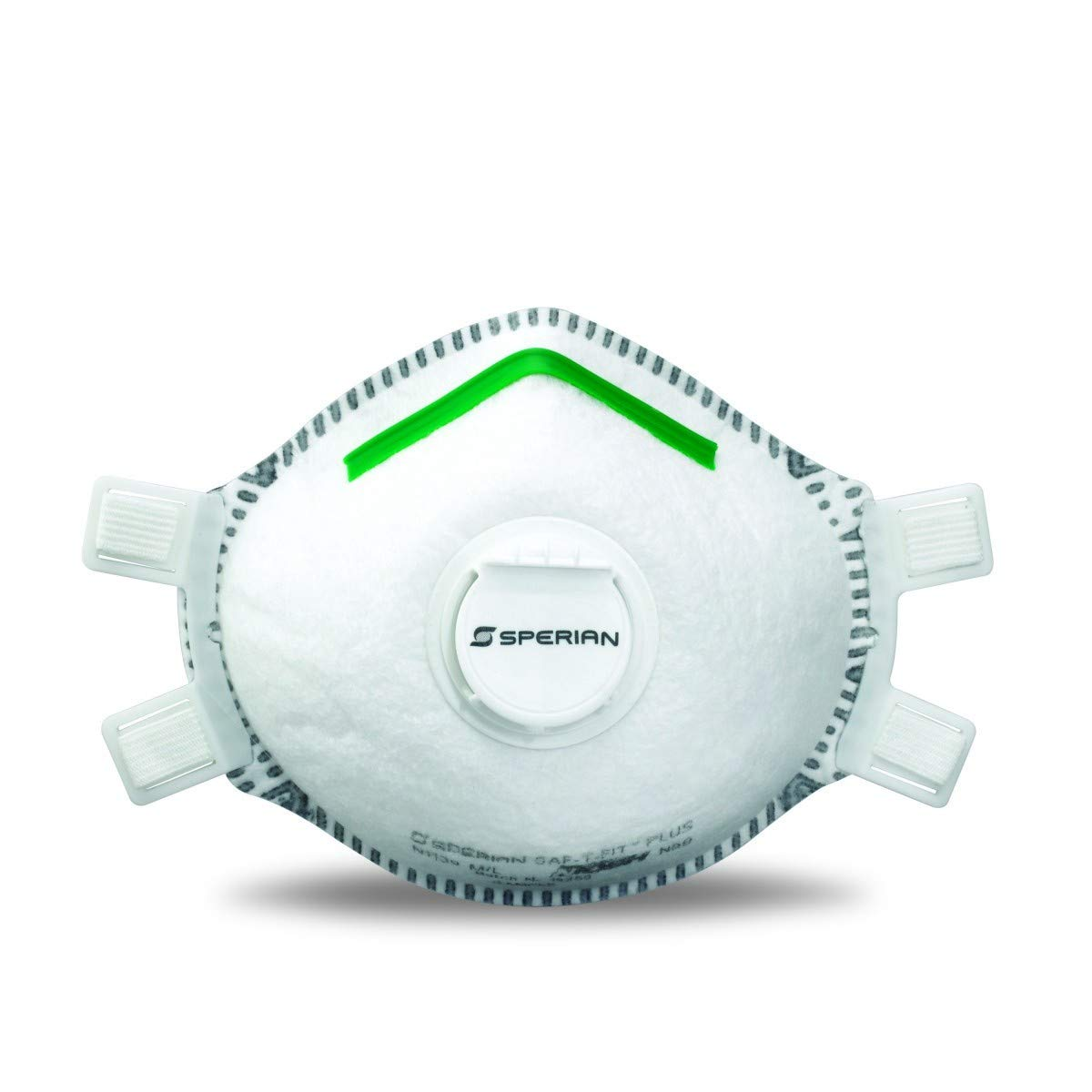 Honeywell 14110403 N1139 N99 SAF-T-FIT Plus Particulate Respirator with Full Face Seal and Valve, Molded Cup, Medium/Large (Pack of 10)