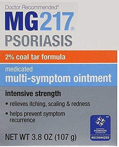 MG217 Medicated Tar Ointment Intensive Strength Psoriasis Treatment, 3.8 - Tar Coal Ointment