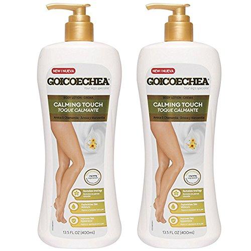 Goicoechea Arnica & Chamomile Body Lotion Calming Touch,Crema Arnica y Manzanilla Toque Calmante 13.5fl oz (pack of 2)