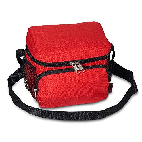 Everest Cooler / Lunch Bag Color: Red