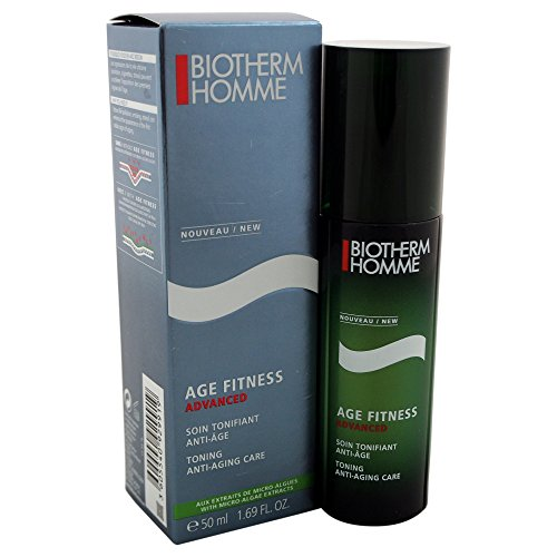 Biotherm Homme Age Fitness Advanced Toning Anti-Aging Care Men's Cream, 1.69 Ounce