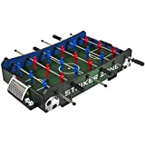 Best Choice Products Striker Zone Tabletop Soccer Foosball...