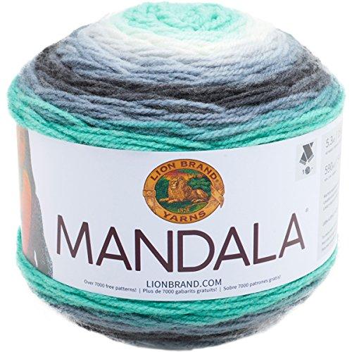Lion Brand Yarn 525-217 Mandala Yarn, Genie,]()