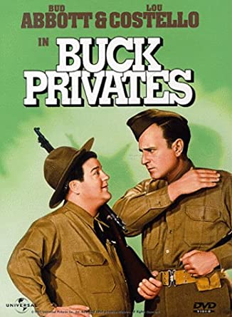 Image result for bud abbott & lou costello in buck privates