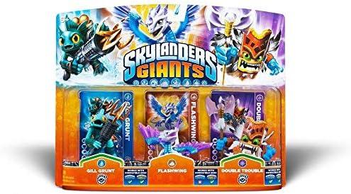 Skylanders Giants - Triple Pack Figuras D: Gill Grunt, Flashwing Y ...