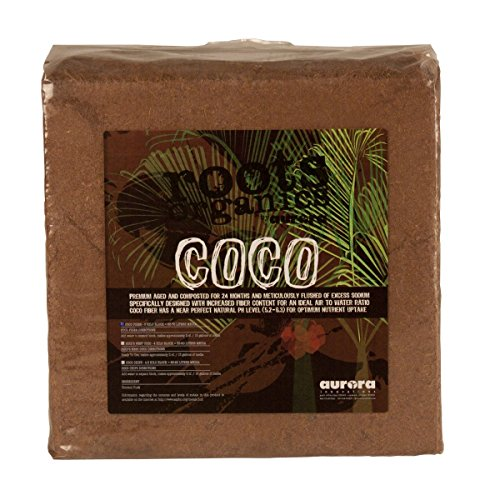 Roots Organics Compressed Coco Fiber Fertilizer, 5 kg