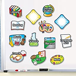 Learning Resources Magnetic Subject Labels - Set of 13
