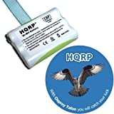 HQRP Cordless Phone Battery for ATandT / Lucent SKU 00578, Battery 2420, part number 80-5542-00-00 / 8055420000 Replacement plus Coaster, Office Central