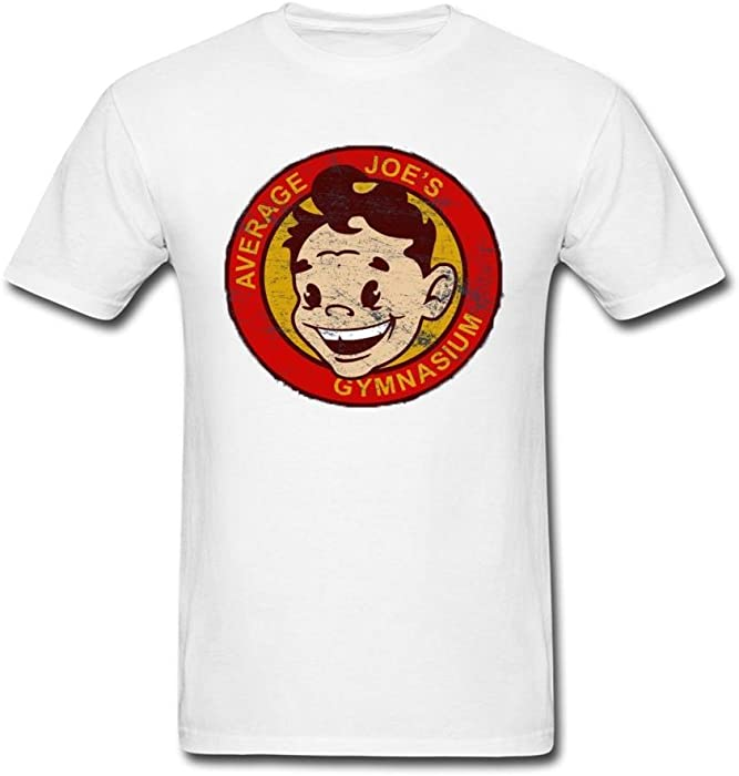 aa9eaaa3c33 Amazon.com  Men s Men s Average Joe s Gymnasium T-Shirt Short Sleeve T-Shirt   Clothing