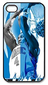 icasepersonalized Personalized Protective Case for iPhone 4/4S - NBA Orlando Magic Blue & White Ignite