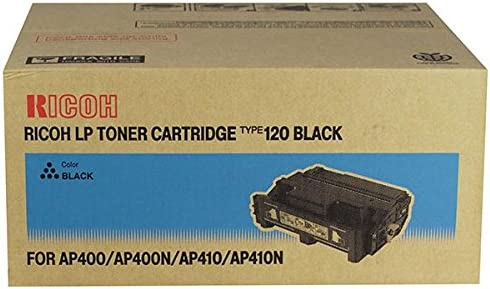 2 Toner Cartridges Bulk: RC400942 Myriad Compatible Inkjet Cartridges Type 120; Models: Aficio AP400 AP410 AP400N etc; Black Ink Replacement for Ricoh 400942