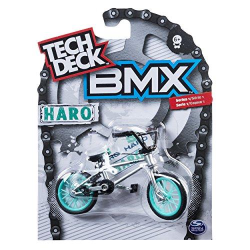 Tech Deck Series 1 BMX Finger Bike - Grey Haro