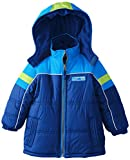 iXtreme Little Boys' Piped Tonal Color Block Puffer