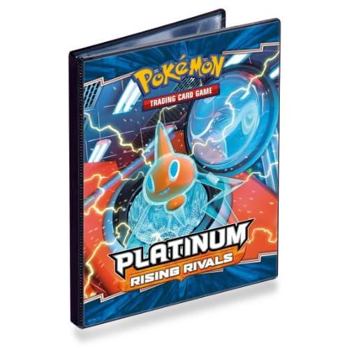 Pokemon 82382 - Jeu de cartes - Cahier Range cartes Platine II - Format A5