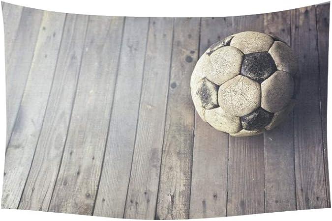 JEOLVP Tapiz Utilizado balón de fútbol en tapices de Piso de ...
