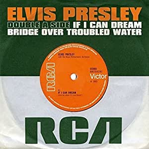 IF I CAN DREAM / BRIDGE OVER TROUBLED WATER (UK)