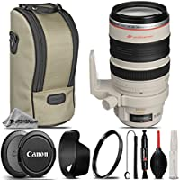 Canon EF 28-300mm f/3.5-5.6L IS USM Lens For The Canon T1i, T2i, T3, T3i, T4i, T5, T5i, 10D, 20D, 30D, 40D, 50D, 60D, 70D, 7D DSLR Cameras. All Original Accessories Included - International Version