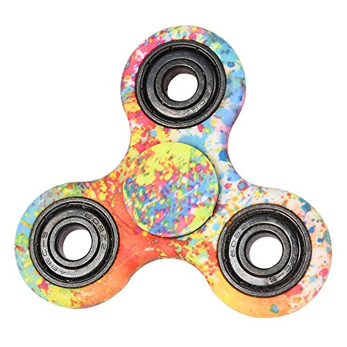 EVERMARKET New Style Premium Tri-Spinner Fidget Toy With Premium Hybrid Ceramic Bearing – Multicolor
