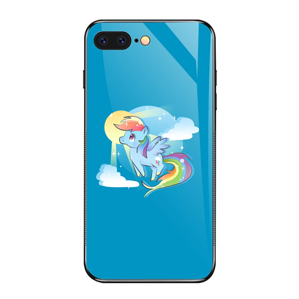 iPhone 7/8 Shockproof Case Dash of Rainbow TPU Soft Silicone Cover Phone Cases for Apple iPhone 7 & iPhone 8