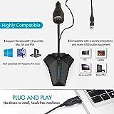 USB Cardioid Microphone,CMTECK G008 Plug &Play