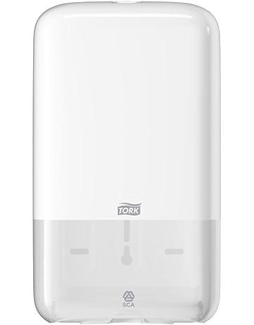 Tork 556000 - Dispensador de papel higiénico plegado, color blanco