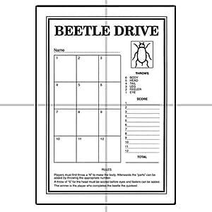 ClubKing Ltd - Juego de tarjetas para jugar a Beetle Drive