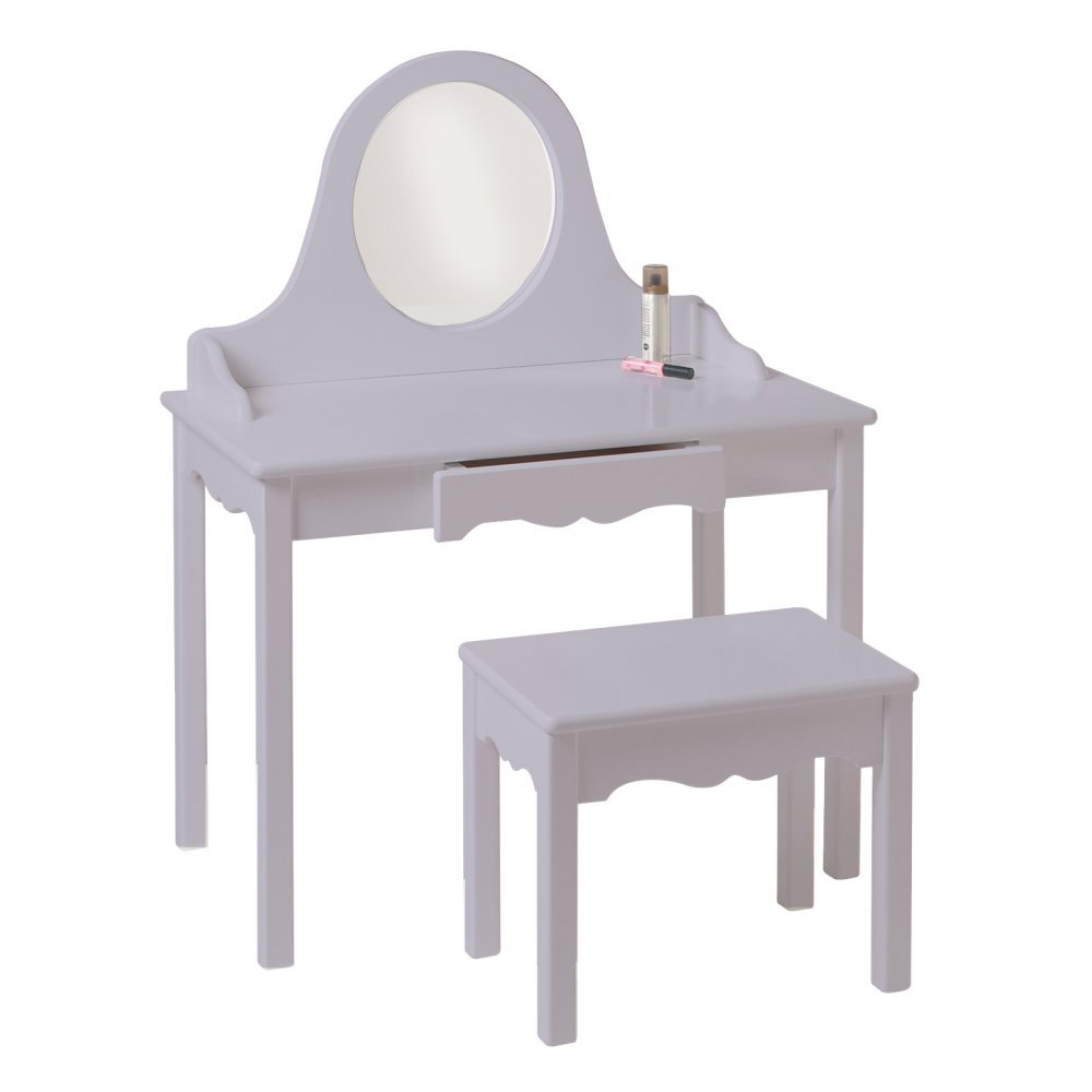 Little Colorado Vanity and Bench Set, Linen 04729LIN