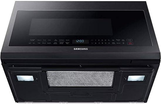 Amazon.com: Samsung negro acero inoxidable horno microondas ...