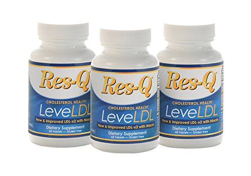 Res-Q LeveLDL with Niacin (formerly LDL-x2) 3-Pack by ResQ